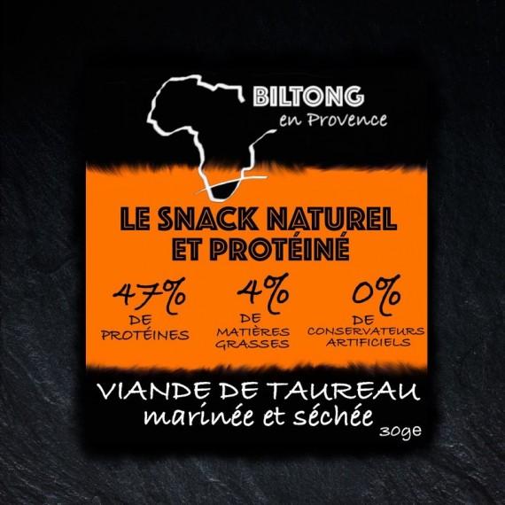 L'original Biltong en Provence - Taureau camarguais séché