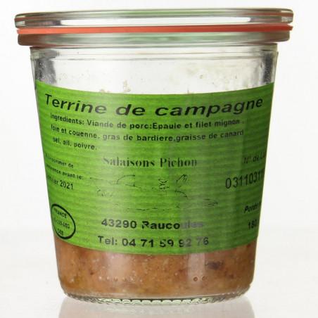 VERRINE DE CAMPAGNE 180G - SALAISONS PICHON