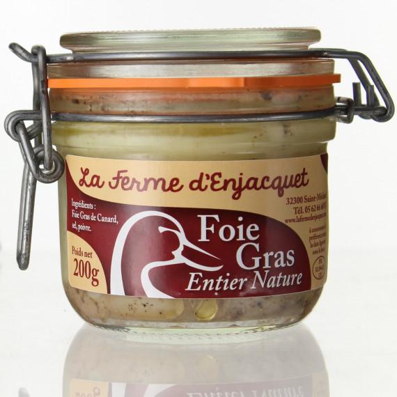 FOIE GRAS MI-CUIT 200G - LA FERME D'ENJACQUET