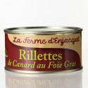 RILLETTES DE CANARD AU FOIE GRAS - LA FEMRE D'ENJACQUET