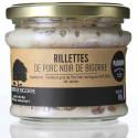 RILLETTES DE PORC NOIR DE BIGORRE 180G - PADOUEN LE PORC NOIR
