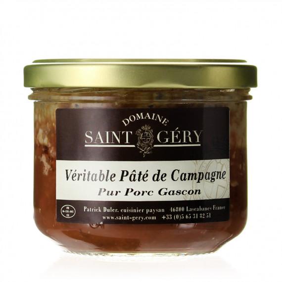 PATE DE CAMPAGNE PUR PORC DE GASCON 180G - DOMAINE SAINT GERY