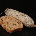 saucisson sec de la boucherie des monts gerbier de jonc - VINCENT MARION