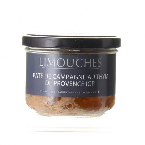 PATE DE CAMPAGNE BOCAL 180G - CHARCUTERIE DES LIMOUCHES