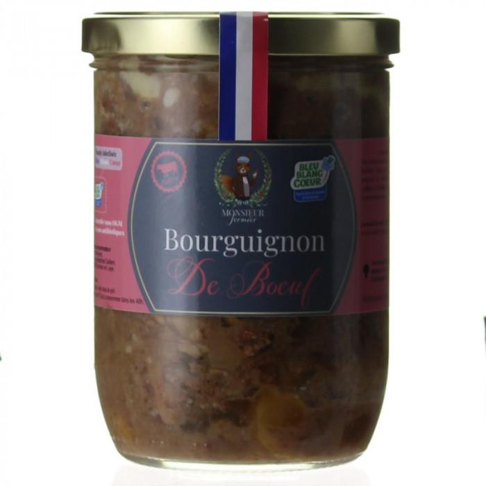 BOURGUIGNON DE BOEUF 750G - MONSIEUR FERMIER