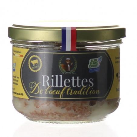 RILLETTES DE BOEUF 190G - MONSIEUR FERMIER