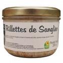 RILLETTES DE SANGLIER SAUVAGE 200G - LA FERME DE L'ETANG