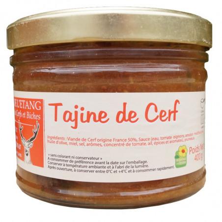 TAJINE DE CERF 400G - LA FERME DE L'ETANG