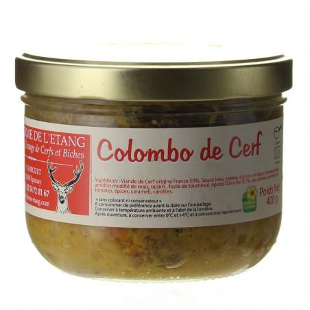 COLOMBO DE CERF 400G - LA FERME DE L'ETANG