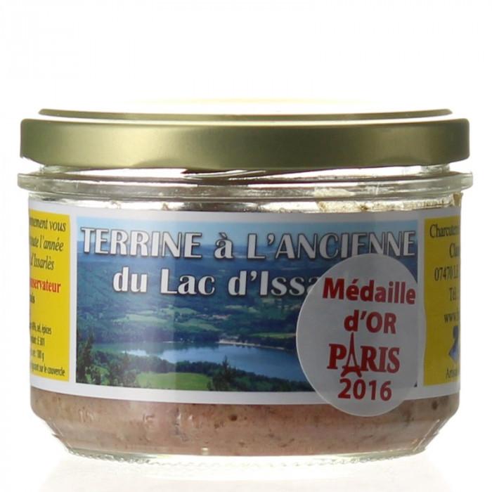 TERRINE A L'ANCIENNE 180G - CHARCUTERIE LAFONT