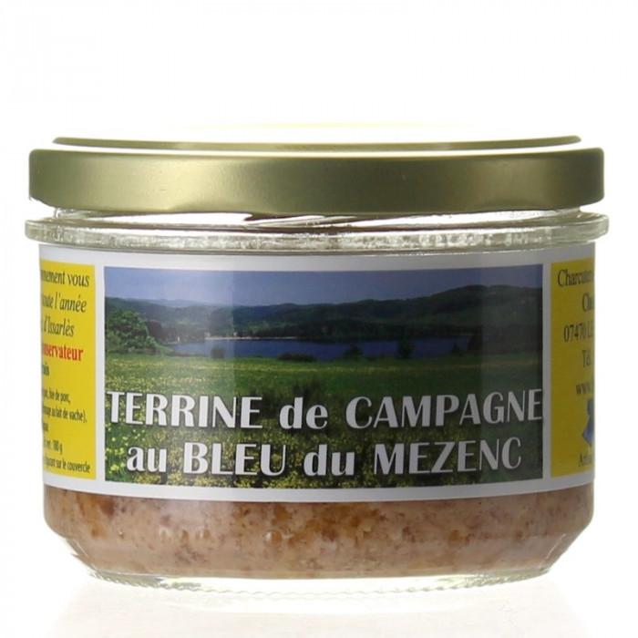 TERRINE AU BLEU DE MEZENC 180G - CHARCUTERIE LAFONT