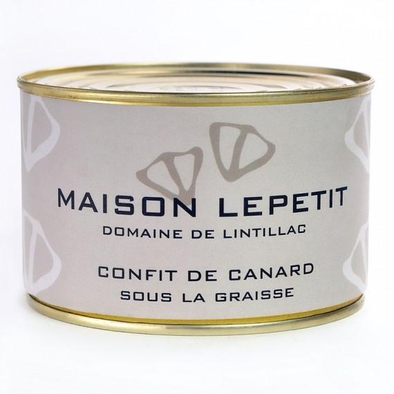 BOITE 1 CUISSE DE CANARD CONFITE - MAISON LEPETIT