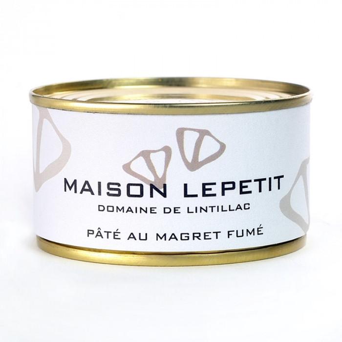 PATE DE MAGRET FUME 130G - MAISON LEPETIT