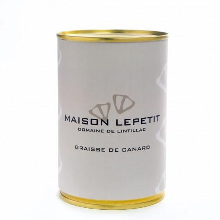 GRAISSE DE CANARD 350G - MAISON LEPETIT
