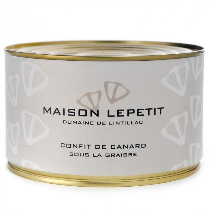 BOITE 4 CUISSES DE CANARD CONFITES - MAISON LEPETIT