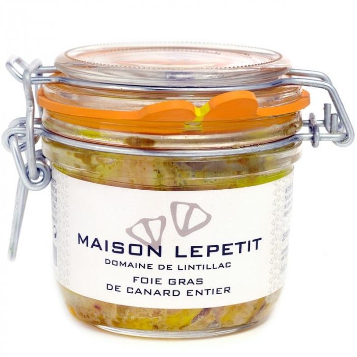 FOIE GRAS DE CANARD ENTIER 180G - MAISON LEPETIT