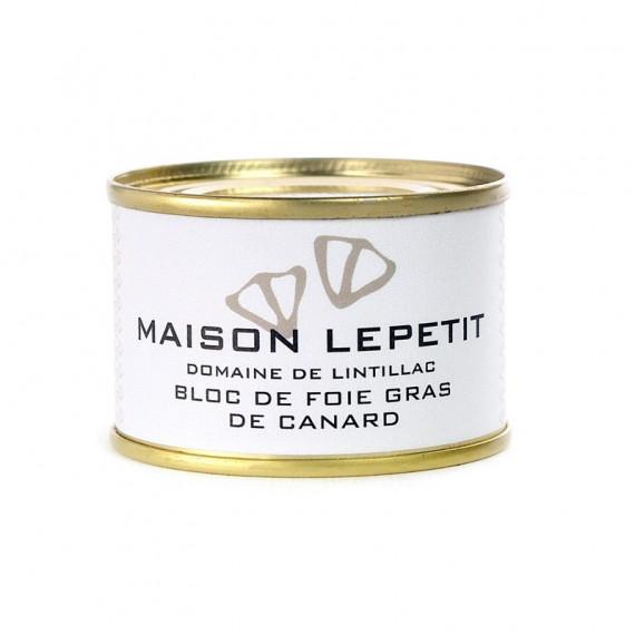 BLOC DE FOIE GRAS DE CANARD 65G - MAISON LEPETIT
