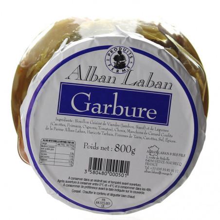 GARBURE 800G - ALBAN LABAN