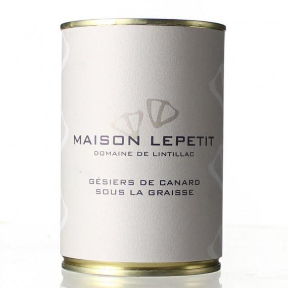 GESIERS DE CANARD CONFITS 400G - MAISON LEPETIT