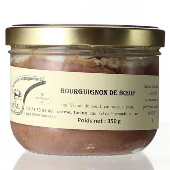 BOURGUIGNON DE BOEUF 350G - LA FERME DES COCHONS GOURMANDS
