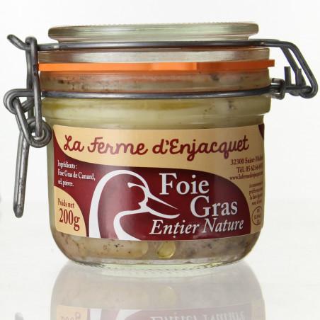 FOIE GRAS CUIT 350G - LA FERME D'ENJACQUET