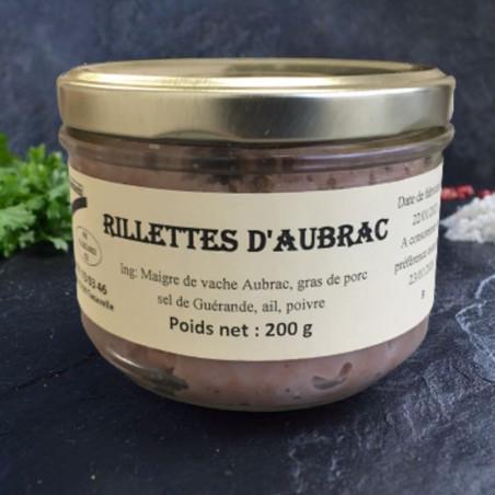 RILLETTES D'AUBRAC FERMIERES 200G - LA FERME DES COCHONS GOURMANDS
