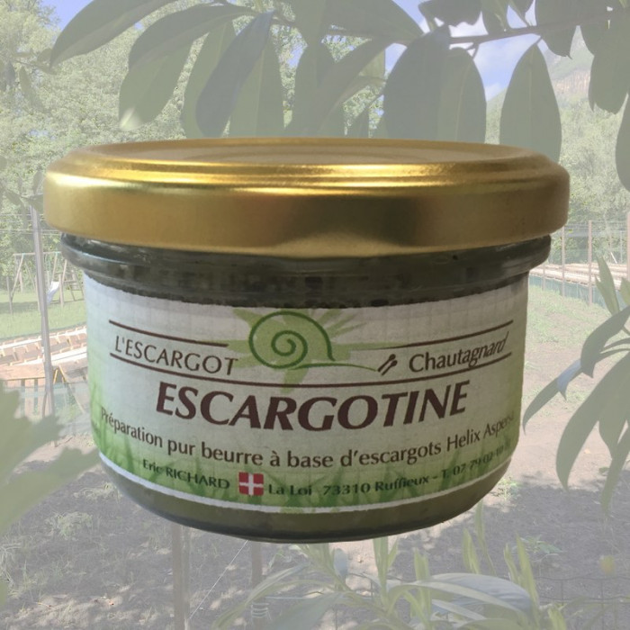 ESCARGOTINE 80G - L'ESCARGOT CHAUTAGNARD